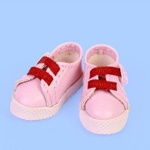 Pink & Red Sport Shoes - GH0004B
