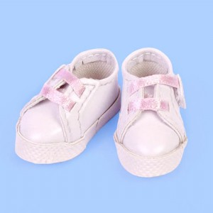 White & Pink Sport Shoes - GH0004A