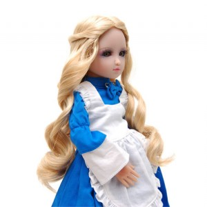 Golden Blonde Doll Wig - WD0001E18