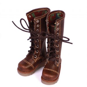 brown boots - WH0043A