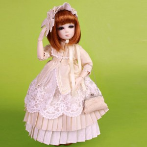 """Ruby Red Galleria BJD 12"""" Senson Warm hearted -outfit only"""