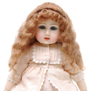 Ruby Red Galleria BJD Bleuette Ash Blonde 10 - Wig only