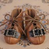 Brown Leather Shoes - EH0024A