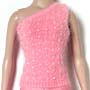 TONNER Beaded Angora Goddess Sweater (Coral)