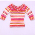 "TONNER 16"" Cabana Stripes Top-only outfit TB2307"