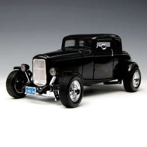 [MOTORMAX] 1:18 1932 FORD FIVE-WINDOW COUPE - 73171