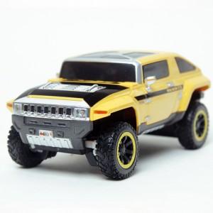 [Maisto] 1:24 R / C 2008 HUMMER HX CONCEPT (YELLOW) / Hummer / model car / Die-cast