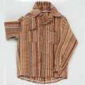 "TONNER 16"" Jazz Stripe Shirt-only outfit T5N17B00004"