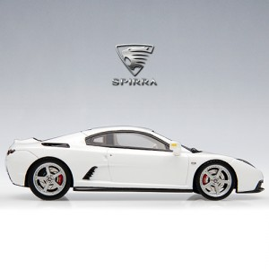 [JIGAMAREE] Spira Harmony 1:43 OULLIMMOTORS SPIRRA EX DAZZLING WHITE precision resin model car