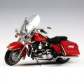[HIGHWAY61] 1:12 Harley Davidson 2009 FLHR ROAD KING - Red Hot Sunglo-81085