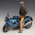 [MOTORMAX] 1/6 BMW K1200RS - 76251,diecast model bike