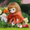 "4.5"" BJD Honee-b free in the gardn of eden - CA0001A"