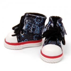 Dark Blue Canvas Sneakers - RH0010E