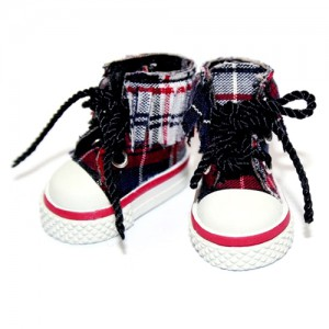 Red n Blue Canvas Sneakers - RH0010B