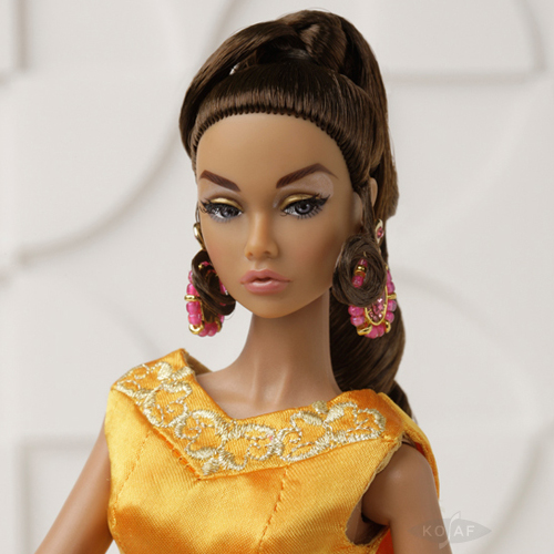 Poppy Parker Irresistible in India  Dressed Doll - PP048