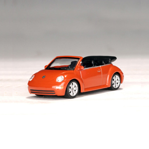 [AUTOART] 1/64 VW NEW BEETLE CABRIOLET 2002 (SUNDOWN ORANGE) _20323 / Volkswagen New Beetle / model car / Die-cast