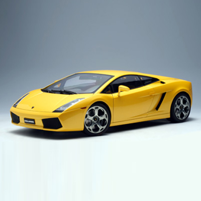 [AUTOART] 1:12 LAMBORGHINI GALLARDO (METALLIC YELLOW)-12091