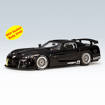 [AUTOART] 1:18 DODGE VIPER COMPETITION CAR 2004 PLAIN BODY VERSION (BLACK) (80421) / Dodge Viper / model car / Die-cast