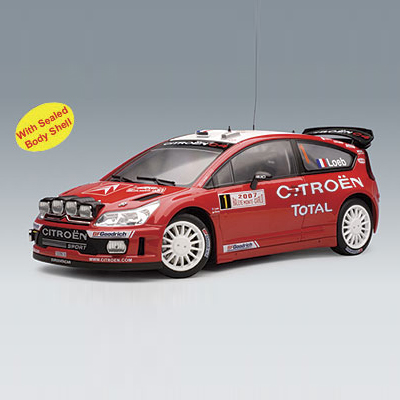[AUTOART] 1:18 CITROEN C4 WRC 2007 S.LOEB / D.ELENA # 1 (WINNER RALLY MONTE CARLO) _80737 / siteuroaeng / model car / Die-cast