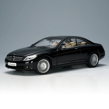 [AUTOART] 1:18 MERCEDES-BENZ CL-KLASSE COUPE (BLACK) _76165 / Benz / model car / Die-cast