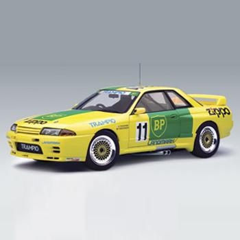 [AUTOART] 1:18 NISSAN SKYLINE GT-R (R32) GROUP A 1993 BP OIL TRAMPIO GT-R (SHIFT) (89381) / Nissan / model car / Die-cast