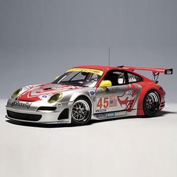 """[AUTOART] 1:18 PORSCHE 911 (997) GT3 RSR ALMS 2007 """"FLYING LIZARD"""" (80788) / Porsche 911 / model car / Die-cast"""