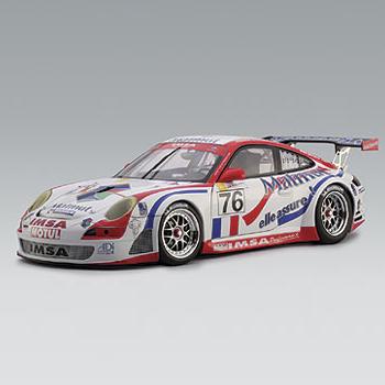 [AUTOART] 1:18 PORSCHE 911 (997) GT3 RSR LEMANS GT2 CLASS WINNER 2007 (80771) / Porsche 911 / model car / Die-cast