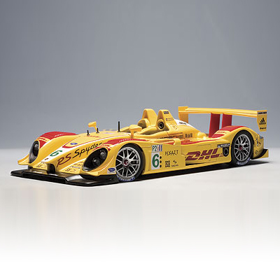 "[AUTOART] 1:18 PORSCHE RS SPYDER ALMS 2007 PENSKE RACING ""DHL"" # 6 (80774) / Porsche / model car / Die-cast"