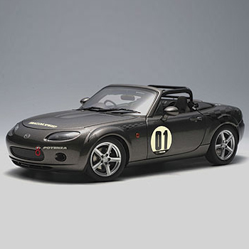 [AUTOART] 1:18 MAZDA ROADSTER (NC) NR-A # 01 (GALAXY GRAY) (80643) / Mazda Roadster / Mazda Roadster
