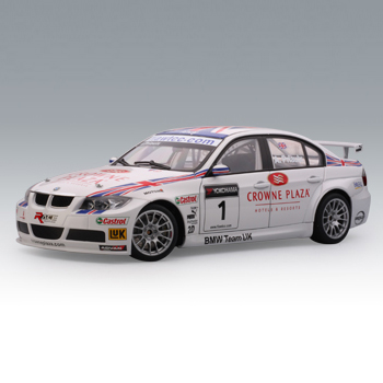 [AUTOART] 1:18 BMW 320Si WTCC 2007 TEAM UK # 1 (A.PRIAULX) (80746) / model car / Die-cast