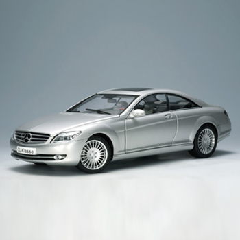 [AUTOART] 1:18 MERCEDES-BENZ CL-KLASSE COUPE (SILVER) -76164 / Benz / model car / Die-cast