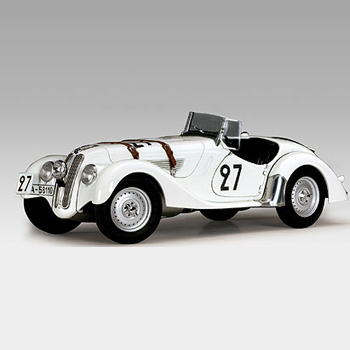 [AUTOART] 1:18 BMW 328 ROADSTER LEMANS 1939 # 27 (83945) / model car / Die-cast
