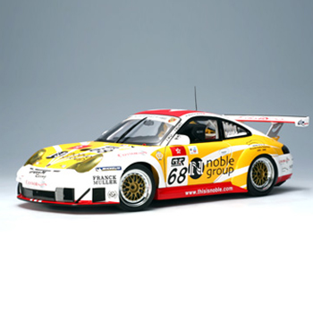 [AUTOART] 1:18 PORSCHE 911 (996) GT3 RSR 2005 FIAGT ZHU HAI MATTHEW (80582) / Porsche 911 / model car / Die-cast