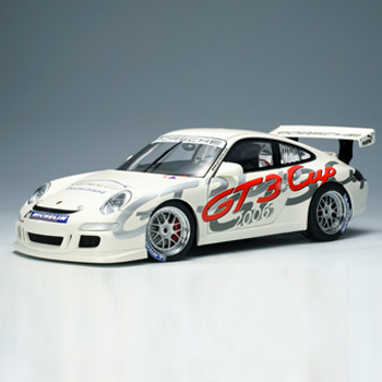 "[AUTOART] 1:18 PORSCHE 911 (997) GT3 CUP 2006 (""DEUTSCHLAND"" LIVERY) (80681) / Porsche 911 / model car / Die-cast"