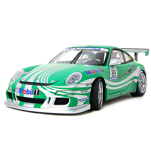 [AUTOART] 1:18 PORSCHE 911 (997) GT3 CUP CAR SC VIP 2006 (GREEN LIVERY) (80682) / Porsche 911 / model car / Die-cast