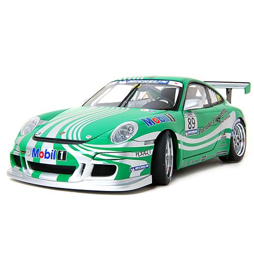 [AUTOART] 1:18 PORSCHE 911 (997) GT3 CUP CAR SC VIP 2006 (GREEN LIVERY) (80682) / Porsche 911 / model car / Die-cast
