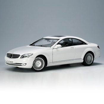 [AUTOART] 1:18 MERCEDES-BENZ CL-KLASSE COUPE (WHITE) (76166) / Benz CL-Class / model car / Die-cast