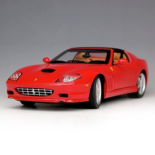 [HOTWHEELS] 1:18 2006 ELITE FERRARI SUPERAMERICA RED - J2921