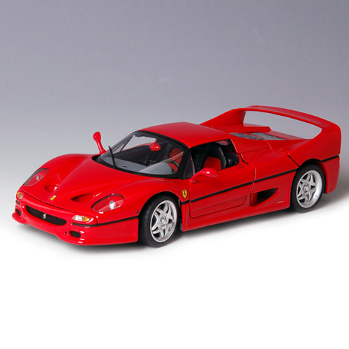 [HOTWHEELS] 1:18 FERRARI F50 RED ELITE - J2929