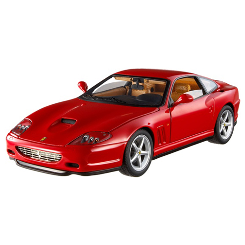 [HOTWHEELS] 1:18 FERRARI 575 MM RED - N2053