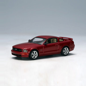 [AUTOART] 1:64 FORD MUSTANG GT 2005 - 2004 AUTO SHOW RED FIRE - 20302