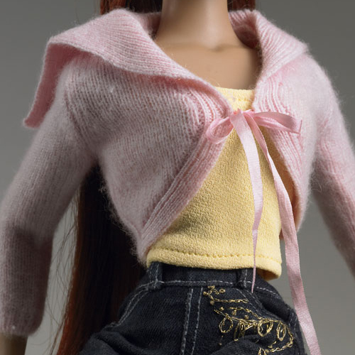 TONNER Touch of Pink Cashmere Sweater TBQAC28