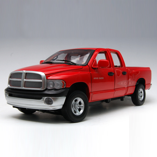 [MOTORMAX] 1:18 2002 DODGE RAM QUAD CAB - 73124,diecast model car
