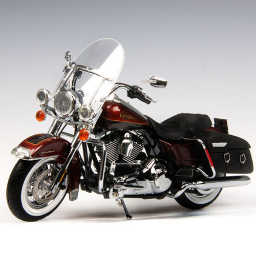 [HIGHWAY61] 1:12 Harley Davidson 2009 FLHRC ROAD KING CLASSIC - Light Candy/Dark Candy Root beer - 81088