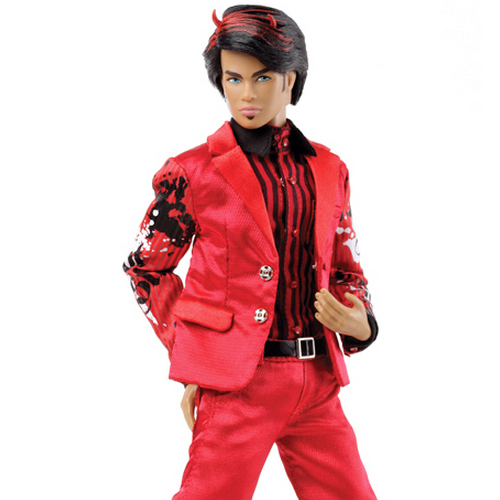 Handsome Devil Damon Fashion Figure The Dynamite Girls Collection - 66091