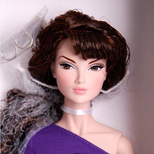 """16"""" Violet Femme Brunette Basic Tulabelle Doll - 86002"""