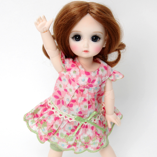 StrawBerina, Blossom Pink (no wig) - GC0002B outfit only