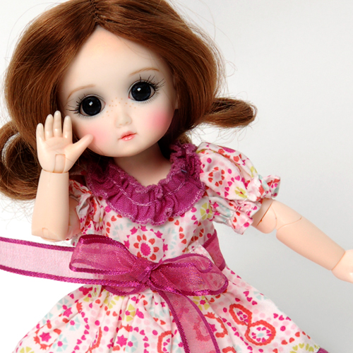 StrawBerina, Royal Purple (no wig) - GC0001B Outfit Only