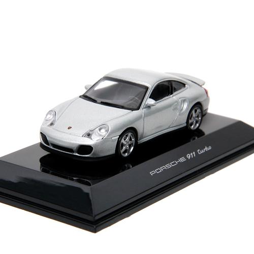 AUTOART 1:64 PORSCHE 911 TURBO 996 SILVER-20312