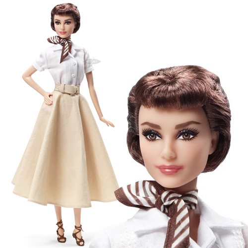 Audrey Hepburn in Roman Holiday Doll - X8260